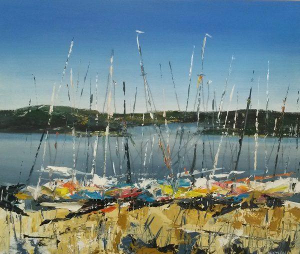Sails at Carsington Water