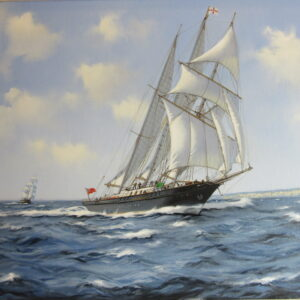 Sir Winston Churchill, a 3 masted tall ship
