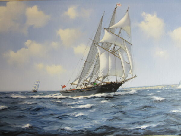 Sir Winston Churchill, a 3 masted tall ship